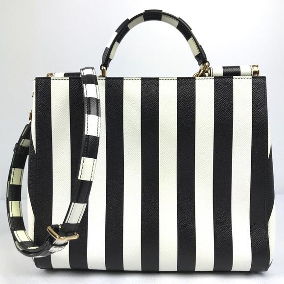 cc43fffbc1 ... Stripe Sicily Bag Tote. Boutique. Dolce   Gabbana.  M 5c3f11463c984467b7270457. M 5c3f1145c61777f057540710.  M 5c3f1148a31c3392cd2525fa